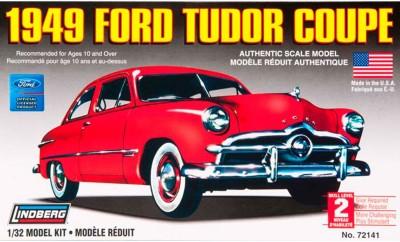 Lindberg USA 1/32 Scale 1949 Ford Tudor Coupe Plastic Model Kit