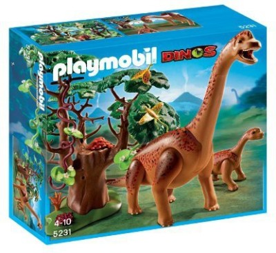 PLAYMOBIL Brachiosaurus With Ba