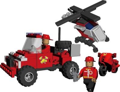 Best Lock 112 Piece Fire Rescue Block Set