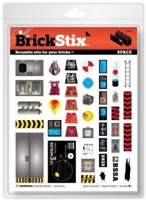 BrickStix Brick Stix Space Reusable Stix For Your Bricks