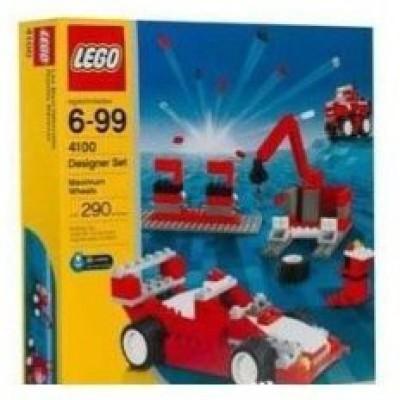 Lego Maxiumum Wheels Designer Set 4100