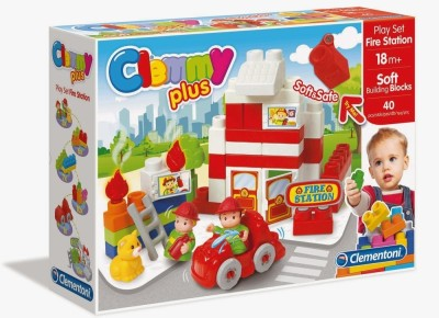 Clemmy Plus Play Set Fire Station