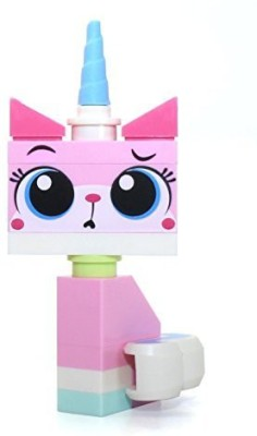 Lego The Movie Sitting Unikitty Mini With 2 Facial Expressions(Multicolor)