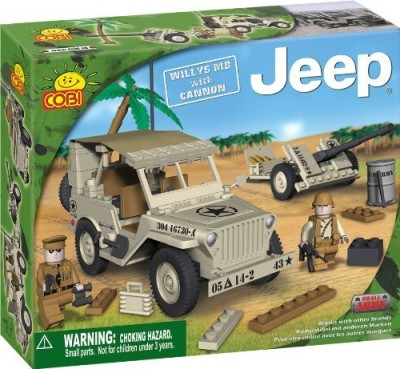 COBI Small Army Jeep Willy,S M38 Historical Replica
