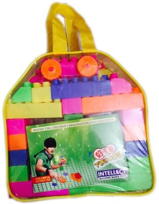 Rahul Toys 50 Pcs Blocks Play And Learn