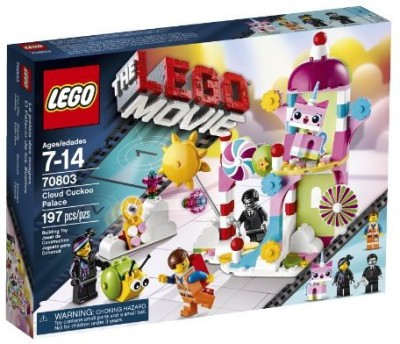 LEGO Movie 70803 Cloud Cuckoo Palace(Multicolor)