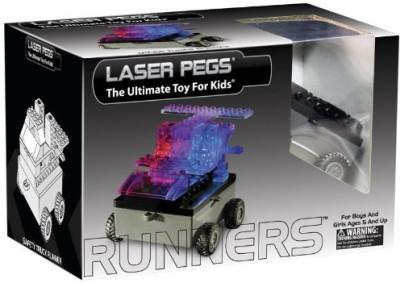 Laser Pegs Runners Car Building Kit