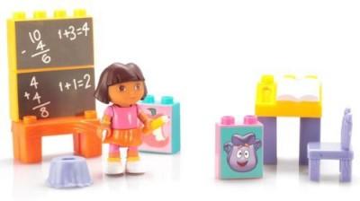 Mega Bloks Dora,S School Adventure