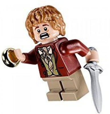 Lego Lord Of The Rings Mini Bilbo Baggins With Sword Sting