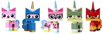 Lego Movie Unikitty Collection (Set Of 5)(Multicolor)