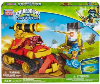 Mega Bloks Skylanders Boss Tank Showdown