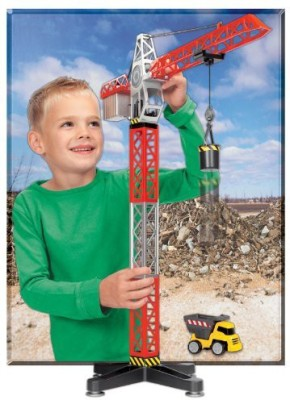 Kid Galaxy Building Crane