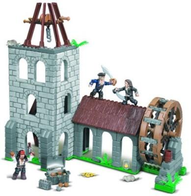 Mega Brands Mega Bloks Pirates Of The Caribbean Water Wheel Duel Playset