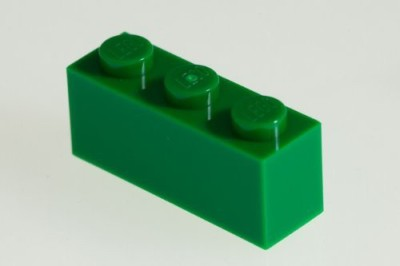 Factory Fresh Bulk Bricks 200X Lego Dark Green (Green) 1X3 Bricks Super Pack