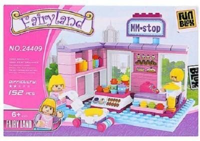 Fun Blox Fairy Land Mall Set - 152 Pieces