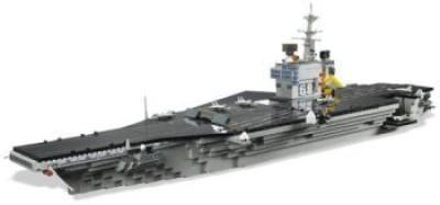 Unknown Mega Bloks Probuilder Uss Nimitz Aircraft Carrier