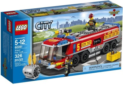Lego Lego City Great Vehicles - Airport Fire Truck