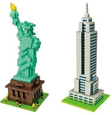Kawada Bundle Of Two Nano New York Landmarks Empire State