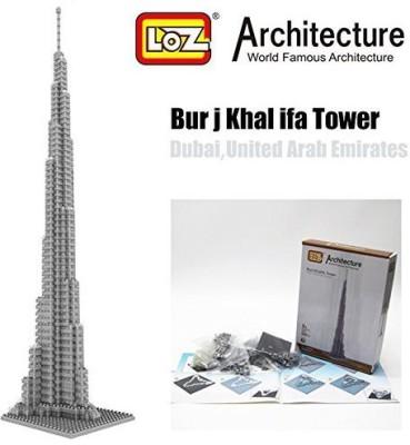 LOZ Burj Khalifa Tower Dubai Diamondarchitecture Nano Mini