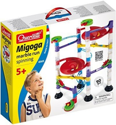 International Playthings Quercetti Marble Run Spinning Playset