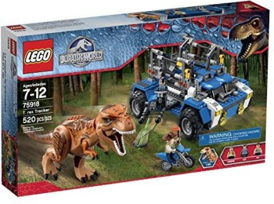 LEGO Jurassic World T Rex Tracker 75918 Building Kit
