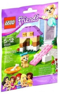Lego Friends Series 3 Animals Puppy,S Playhouse (41025)