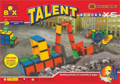 Toysbox Talent Block Xs With Cd