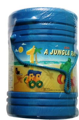 9Perfect A Jungle Rally Toy Set(Multicolor)