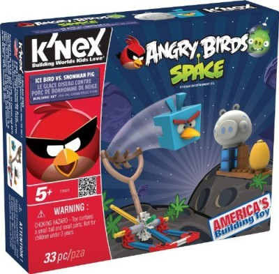 K,Nex Angry Birds Fire Bomb Bird Versus Small Pig Building Set
