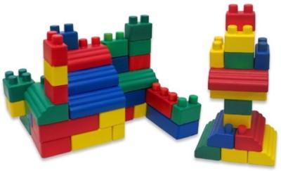 Edushape Mini Edu Soft and Flexible Blocks(Multicolor)