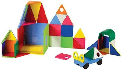 Magna Tiles 02148 Solid Colors 48 pc DX set Toy
