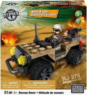 Mega Brands True Heroes Exclusive Mega Bloks Set Rescue Rover