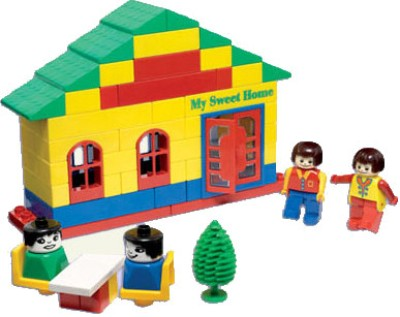 Peacock Kinder Blocks-Home Sweet Home