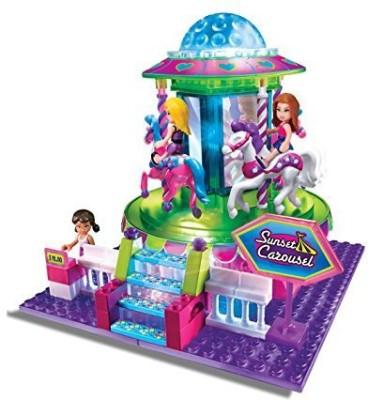 Cra-Z-Art Lite Brix Carousel Playset