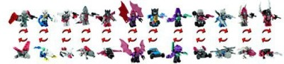 Transformers Kreo Age Of Extinction Microchangers Collection 1 Set Of 12
