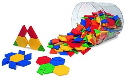 Learning Resources LER0134 Pattern Blocks, Grades Pre-K and Up