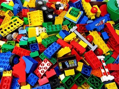 Lego 15 Pounds Of Duplo (Around 50 Pieces) Washedcleaned