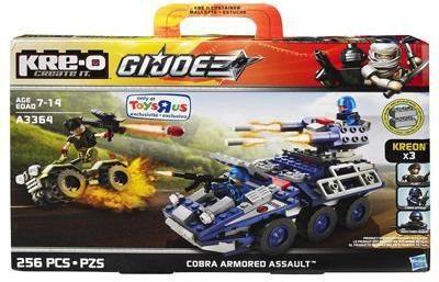 Hasbro Kre-O GI Joe Cobra Armored Assault A3364