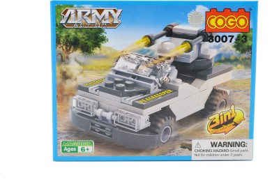 Mera Toy Shop Army Action Constructions Blocks 90pc