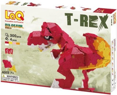 LaQ Dinosaur World Trex Model Building Kit