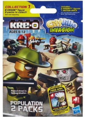KRE-O Cityville Invasion Population Pack Series 1 (A4963)