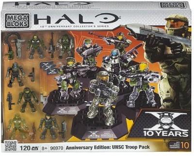 Mega Brands Halo Mega Bloks Set 96970 Anniversary Edition Unsc Troop