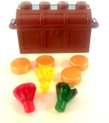 Castle Lego Treasure Chest & Gold + Rubies