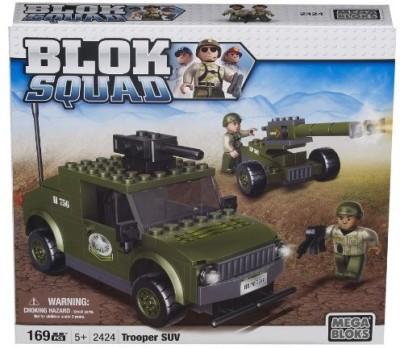 Mega Bloks Squad Army Trooper Suv
