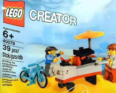 Creator Lego Exclusive 40078 Hot Dog Stand