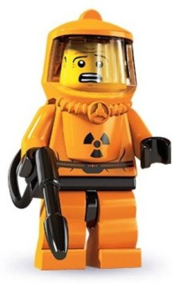 Lego Series 4 Collectible Mini Hazmat Guy