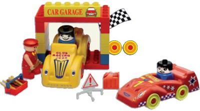 Peacock Kinder Blocks-Car Garage