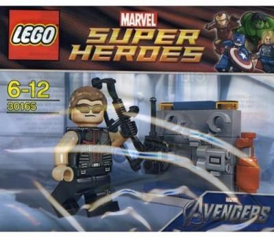 Lego Super Heroes Hawkeye With Equipment Set 30165 (Bagged)