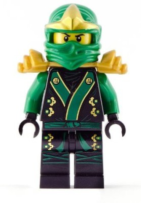 Lego Lloyd Zx Minifigure - Black Kimono