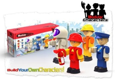 Modular Toys USA Worker Characters (4Pack)